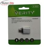 تبدیل USB به VERITY A 303 Type C
